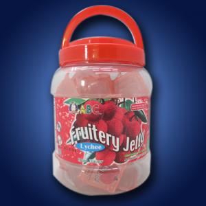 ABC Jelly Lychee In Jars 6 x 880g