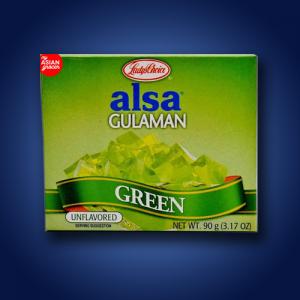 Alsa Green Gulaman Mix 24 x 90gm