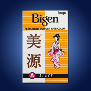 Bigen Powder Hair Dye – Black 12 x 60g