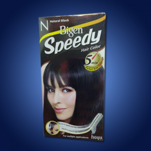 Bigen Speedy Hair Dye – Black 6 x 40g