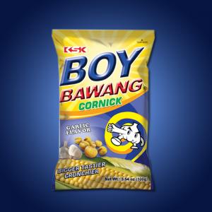 Boy Bawang Corn Snack Garlic 40 x 100g